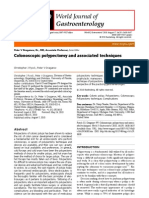 Colonoscopic Polypectomy and Associated Techniques