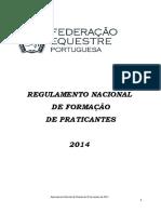 Reg. Formacao de Praticantes - 24.01.2014 (1)