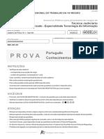 Prova Tecnico Judiciario - Tecnologia da Informacao .pdf