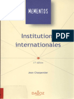 Institutions internationale dalloz.pdf