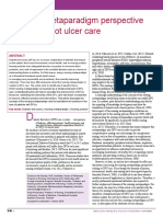 2019 Nursing metaparadigm of DFU care