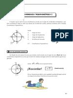 TRIG - Guía 5 - Circunferencia Trigonomé