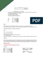 Actividad 2. Cálculo de indicadores financieros
