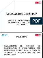 Presentación Aplicación Densitop 222