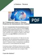 Alinhamento dos Chakras - Técnica Poderosa.pdf