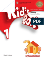 Kids Box Home booklet