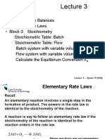 Lecture 3 -Rate Laws and Stoichiometry2