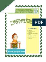 programa para convivencia escolar PRG