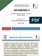 2r. Especificaciones técnicas y cargas - Diapositivas
