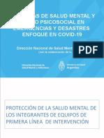 EQUIPOS DE SM y CUIDADO DE EQUIPOS DE SALUD