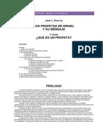 LOS PROFETAS DE ISRAEL Y SU MENSAJE-JOSÉ L. SICRE SJ