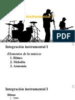 Integración Instrumental I.- Principios de Composición e Instrumentación