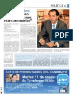 Aguirre sobre Javier Laorden