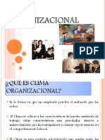 [PD] Presentaciones - Clima organizacional