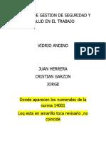 SISTEMA DE GESTION DE SEGURIDAD Y SALUD EN EL TRABAJO VIDRIO ANDINO (2)