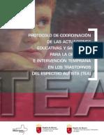 TEA- protocolos detección e intervención temprana (Murcia)