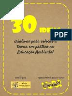 ATIVIDADE EDUCAÇÃO AMBIENTAL AULA 1