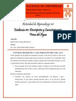 Evidencia #1 - Descripción y Caracterización Física del Agua - Marlon Vergara