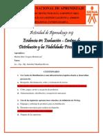 Evidencia #1 - Evaluación – Centros de Distribución y las Habilidades Psicomotrices - Marlon Vergara