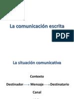 La comunicacion escrita