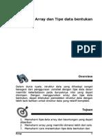 Bab VI Poltek - Array Dan Tipe Data Bentukan