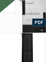 Roxin. T delito discusion actual.pdf