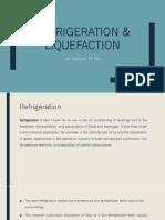 Refrigeration  liquefaction