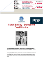 General Curtis LeMay - Demented Cold Warrior