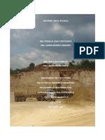 INFORME VISITA TECNICA - FALLAS GEOLOGICAS Y ORIGENES (Luna & Rivero)