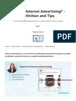 What is Internet Advertising_ Definition, Video _ SendPulse