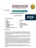 MÓDULO DE APRENDIZAJE N°05 TERCER AÑO