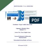 TAREA 4 Deontología  y  Axiologia ALICIA VARGAS CASTILLO