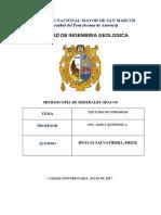 TEXTURAS SECUNDARIAS - HUAYAS