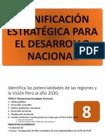 TEMA 8 - Identifica las potencialidades de las regiones y la Visión Perú al año 2030