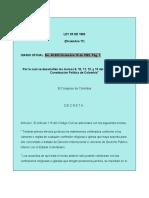 SIDN15-Archivos-Normatividad-Legislación Nacional-Leyes de Colombia-Leyes 1992 (1 - 33)-Ley 25 de 1992 Divorcio
