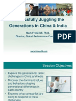 TH08 Successfully Juggling the Generations in China and India