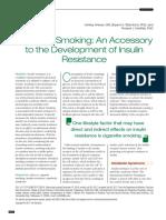consumo de cigarrillo y disminucion de la resistencia a la insulina