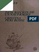 Cristina Peri Rossi - Descripcion de Un Naufragio