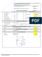 PPE-STD-CAL-ME-003 Shell-Head Thk Press. Vessel Calculation