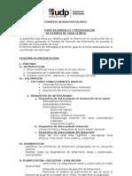 PAUTA Caso clínico  Internado Intrahospitalario 2010