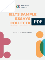 Collection IELTS Essays