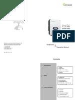Growatt 750-3000-S User Manual