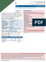 VCF stock analysis