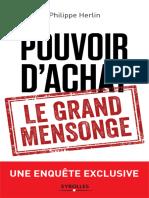 Philippe Herlin - Pouvoir d'achat _ le grand mensonge-Eyrolles (2018)
