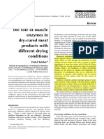 The role of muscle