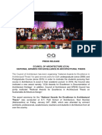 Press Release  COA  NATIONAL AWARDS FOR EXCELLENCE IN ARCHITECTURAL THESIS.pdf