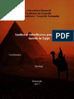 Analiza Si Valorificarea Potentialului Turistic in EGIPT