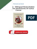 Learn Italian Bilingual Book Italian English The Adventures Of Julius Caesar Ebooks Free Download