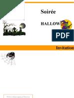 invitation fete halloween