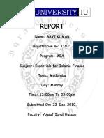 Ravi Report